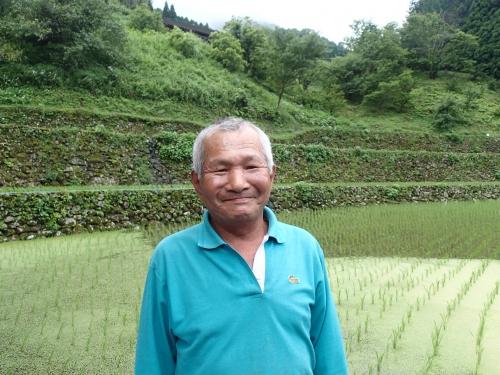 棚田米農家さん
